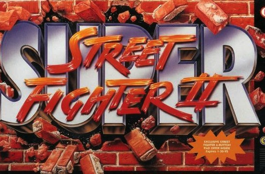 Super Street Fighter II SNES Cover