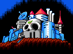 Mega Man 2 Screenshot: Dr. Wily Stage